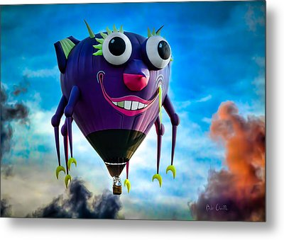 Purple People Eater Metal Print by Bob Orsillo