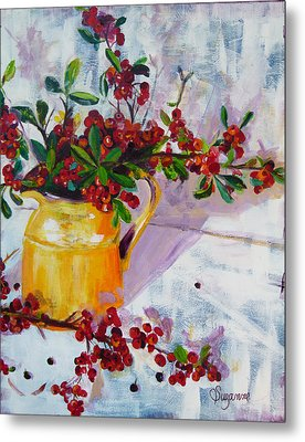Pyracatha Pitcher Picture Metal Print by Suzanne Willis