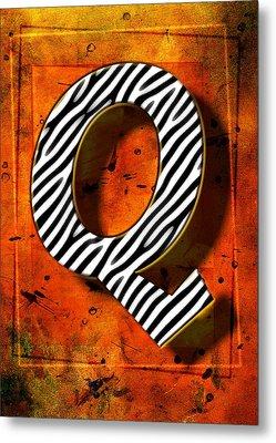 Q Metal Print by Mauro Celotti