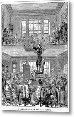 Quaker Meeting House Metal Print by Granger
