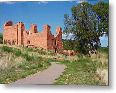 Quarai - National Historic Landmark Metal Print by Christine Till