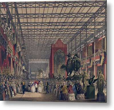 Queen Victoria With Prince Consort Metal Print by Everett