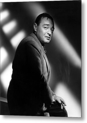 Quicksand, Peter Lorre, 1950 Metal Print by Everett