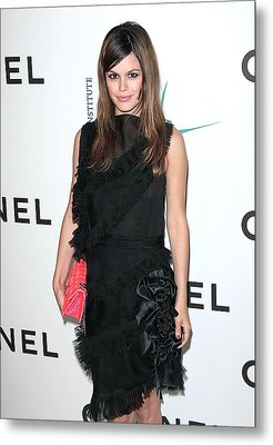 Rachel Bilson Wearing Chanel Metal Print by Everett