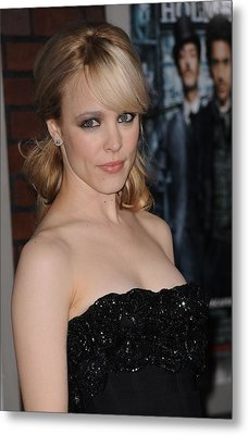 Rachel Mcadams At Arrivals For Sherlock Metal Print by Everett
