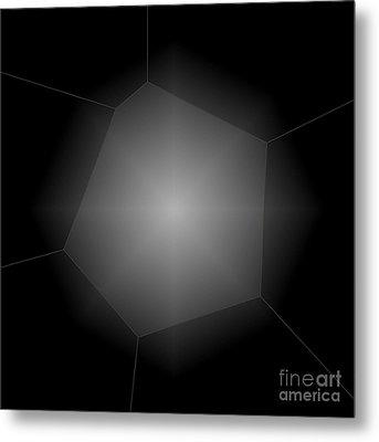 Radiance - Abstract Art Metal Print by Carol Groenen