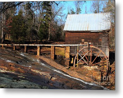 Ragsdale Mill Metal Print by Rick Mann