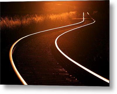Railroads Metal Print by Thomas Splietker