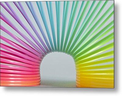 Rainbow 2 Metal Print by Steve Purnell