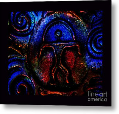 Rainbow Man Metal Print by Susanne Still