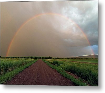 Rainbow Metal Print by Pat Gaines