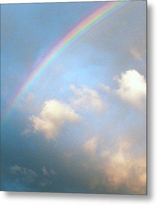 Rainbow Metal Print by Sally Stevens