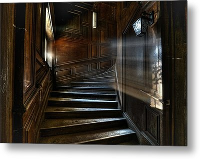 Ray Of Light Metal Print by Nathan Wright