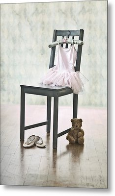 Ready For Ballet Lessons Metal Print by Joana Kruse