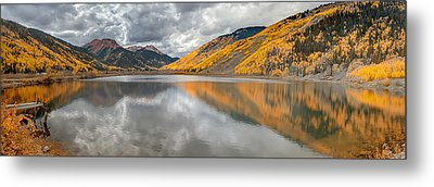 Red Mountain Metal Print by Jennifer Grover