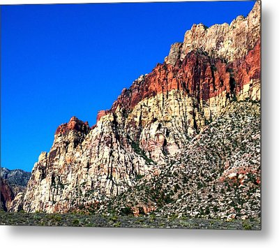 Red Rock Canyon 65 Metal Print by Randall Weidner