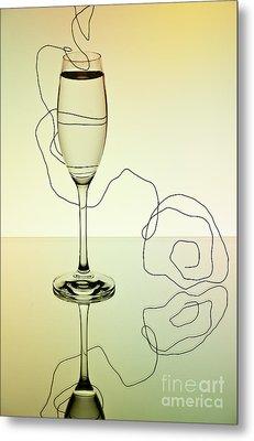 Reflection 01 Metal Print by Nailia Schwarz