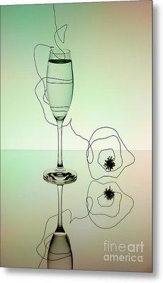 Reflection 02 Metal Print by Nailia Schwarz