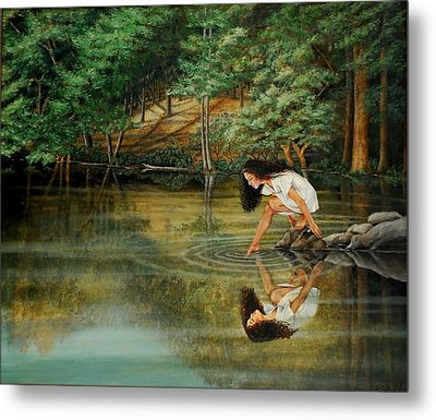 Reflections Of God's Love Metal Print by Ruth Gee