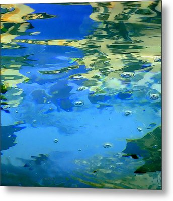 Reflections On Rome Metal Print by Roberto Alamino