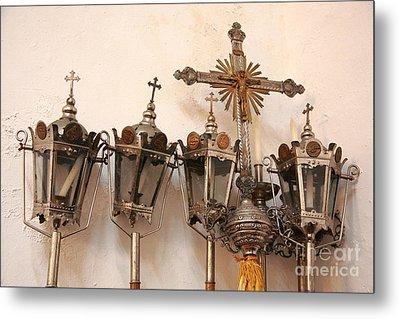 Religious Artifacts Metal Print by Gaspar Avila