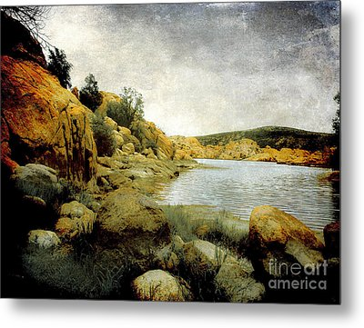 Rembrandt Colors Metal Print by Arne Hansen