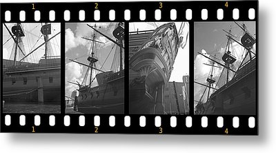 Remember This Boat Metal Print by Manuela Constantin