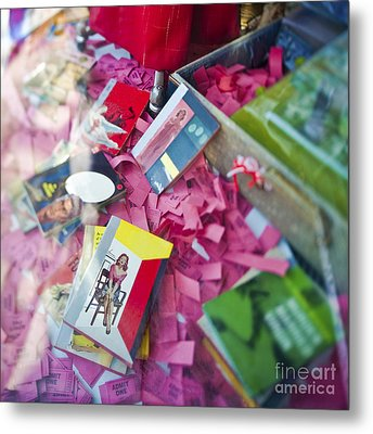 Retail Display Metal Print by Eddy Joaquim