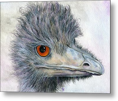 Rhea Metal Print by Brandy Fenenga