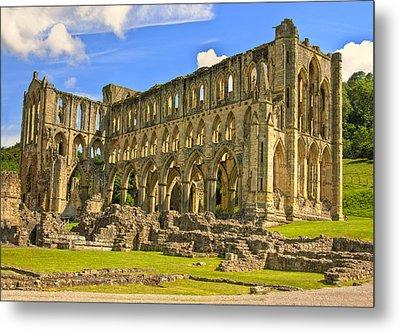 Rievaulx Abbey Ruins Metal Print by Trevor Kersley