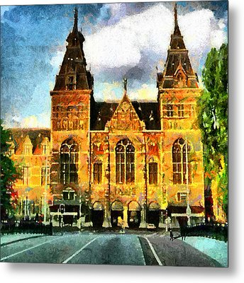 Rijksmuseum Metal Print by Anthony Caruso