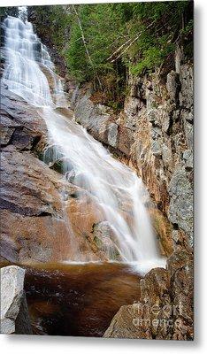 Ripley Falls - Crawford Notch State Park New Hampshire Usa Metal Print by Erin Paul Donovan