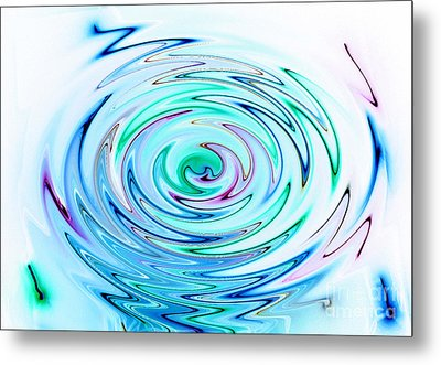 Ripple Metal Print by Glimpses Prasad Datar-Archana Padhye Photography