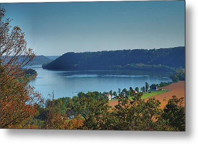 River View IIi Metal Print by Steven Ainsworth