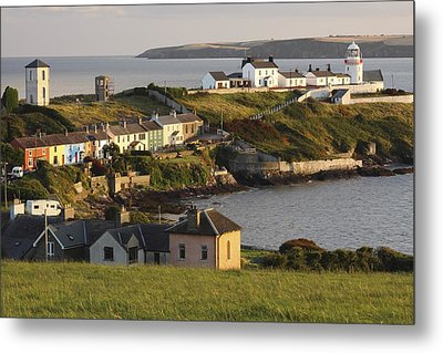 Roches Point Lighthouse In Cork Harbour Metal Print by Trish Punch