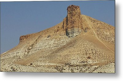 Rock Formations Of Wyoming Metal Print by Bruce Bley