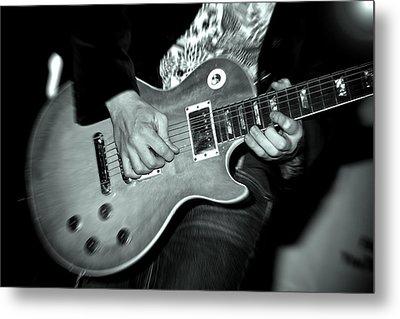 Rock On Metal Print by Kamil Swiatek