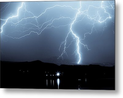 Rocky Mountain Storm  Metal Print by James BO  Insogna