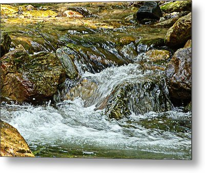 Rocky River Metal Print by Lydia Holly