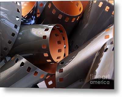Roll Of Film Metal Print by Carlos Caetano