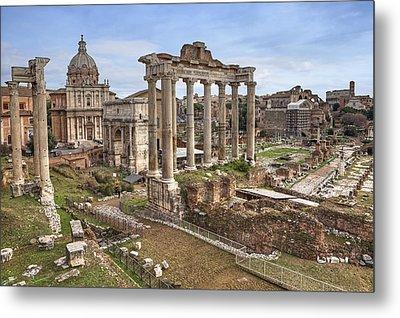 Rome Forum Romanum Metal Print by Joana Kruse