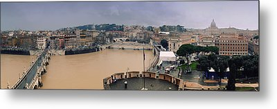 Rome Panorama Metal Print by Shevi