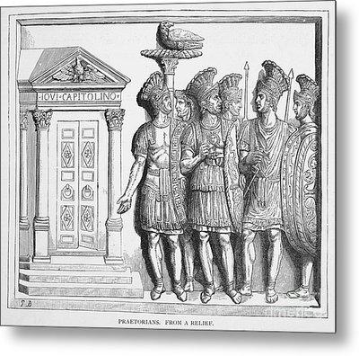 Rome: Praetorian Guards Metal Print by Granger