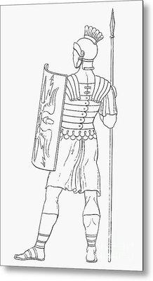 Rome: Soldier Metal Print by Granger