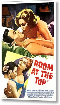 Room At The Top, Simone Signoret Metal Print by Everett