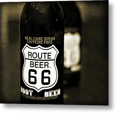 Root Beer Metal Print by Malania Hammer