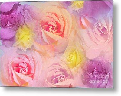 Rose Bouquet Metal Print by Cindy Lee Longhini