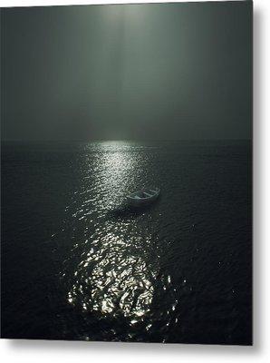 Row Boat Metal Print by James Ingham
