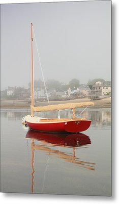Ruby Red Catboat Metal Print by Roupen  Baker