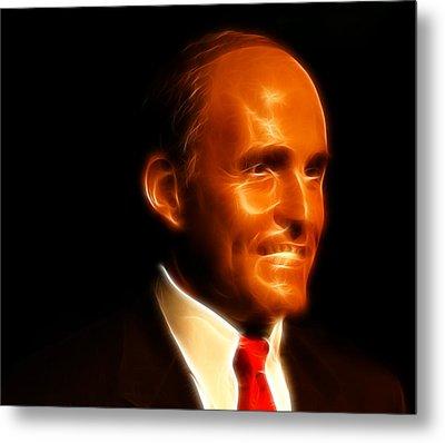 Rudy Giuliani - Rudolph William Louis Giuliani Metal Print by Lee Dos Santos